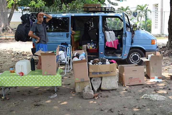 equipaje vuelta al mundo en furgoneta