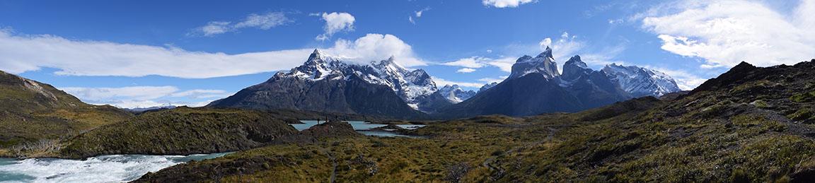 Panoramica Cuernos Paine