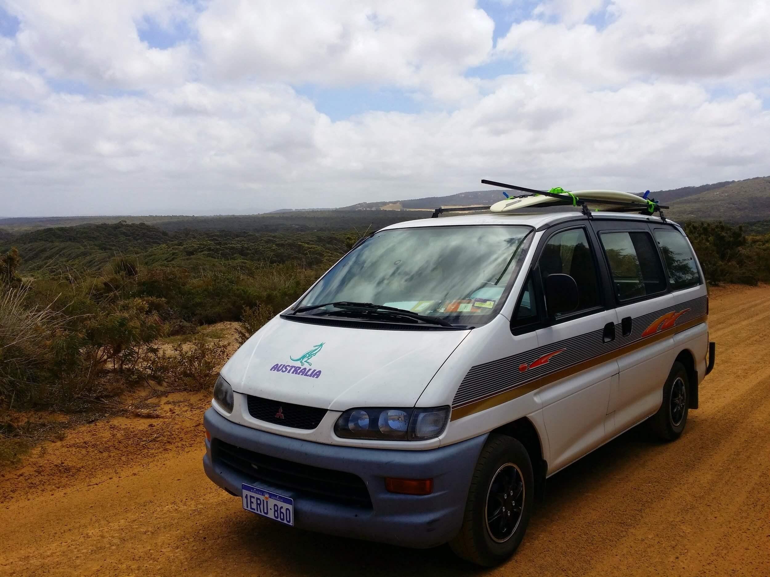 viajar en furgoneta por Australia