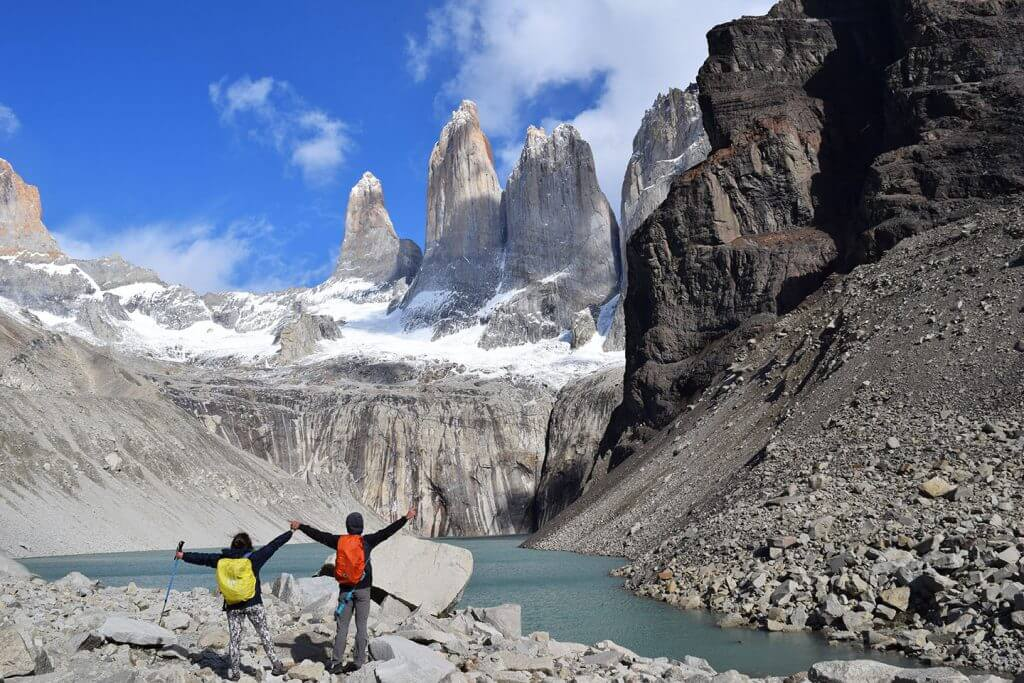 Torres del Paine vivir viajando en furgoneta camper