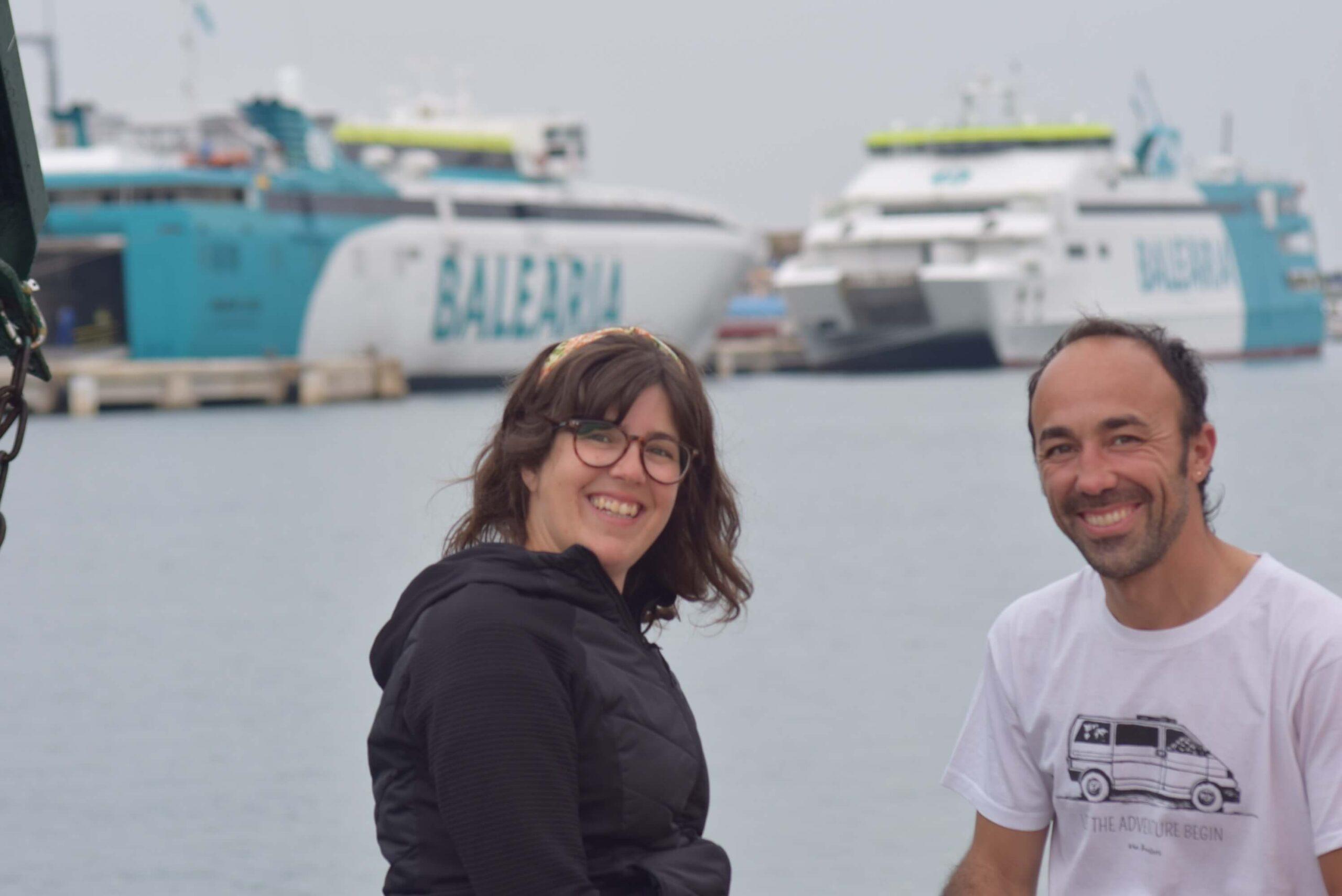 Viajar en furgoneta a las Islas Baleares